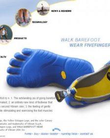 Five-fingers shoe