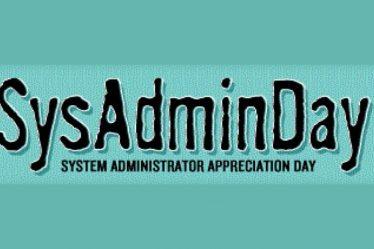 Sys Admin Day logo