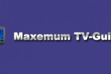 MTVG - Maxemum TV Guide logo