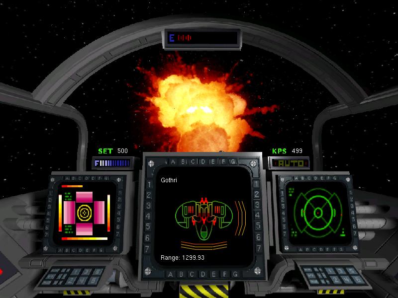 Vega Strike kilrathi gothri explosion