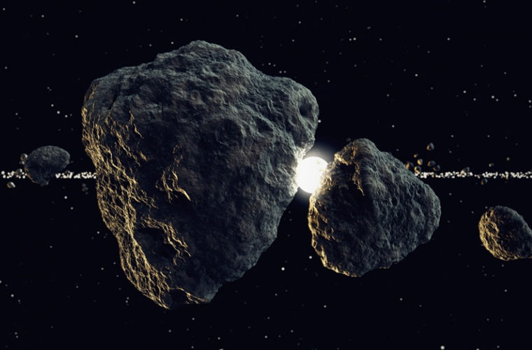 Space Cosmos Asteroid