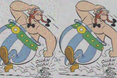 GreycStoration restore Obelix