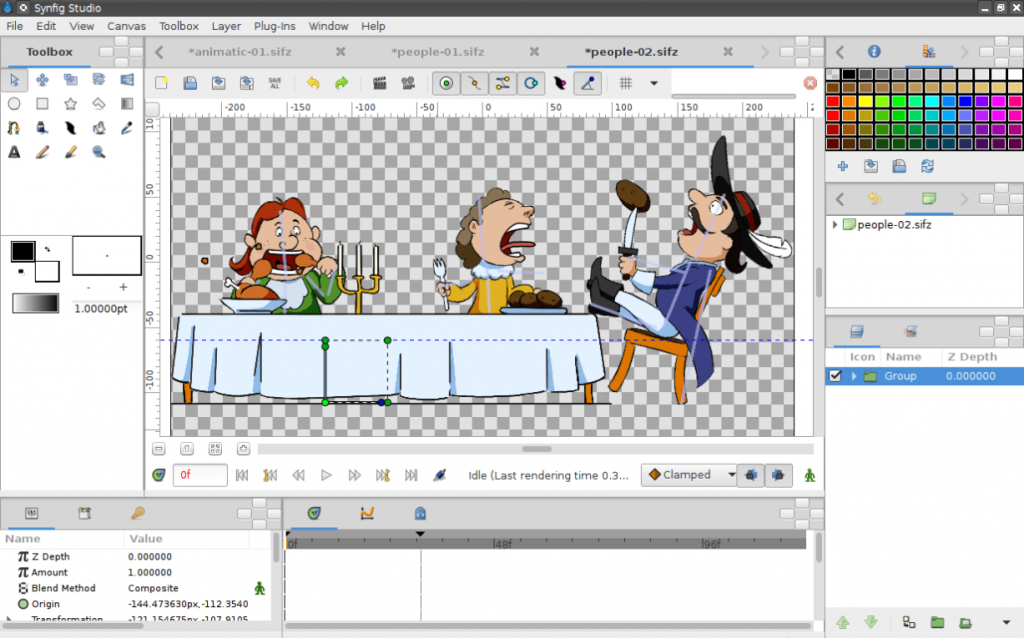 Synfig 2D Animation Studio