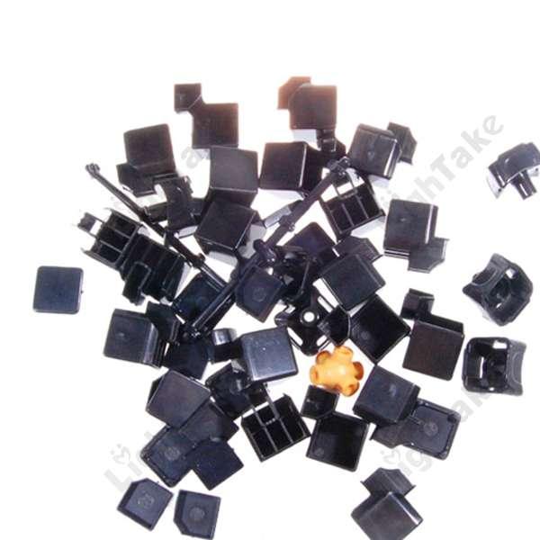 3x3x3 Type A Magic Cube DIY Kit 5th Gen Black