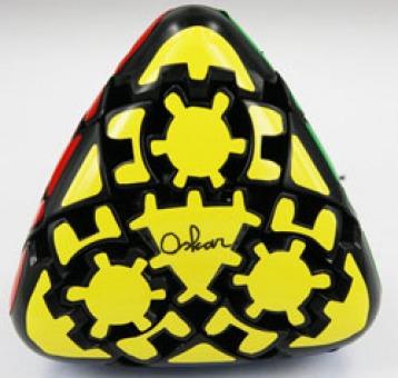 New Gear Pyraminx Black