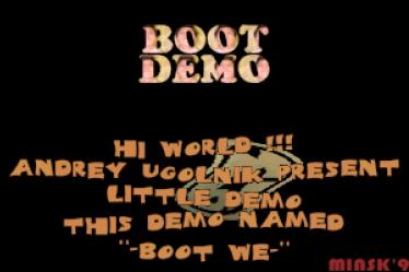 Boot Demo