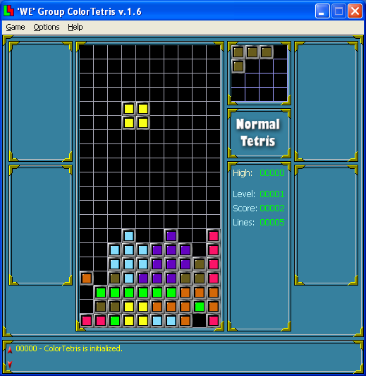 Color Tetris for Windows