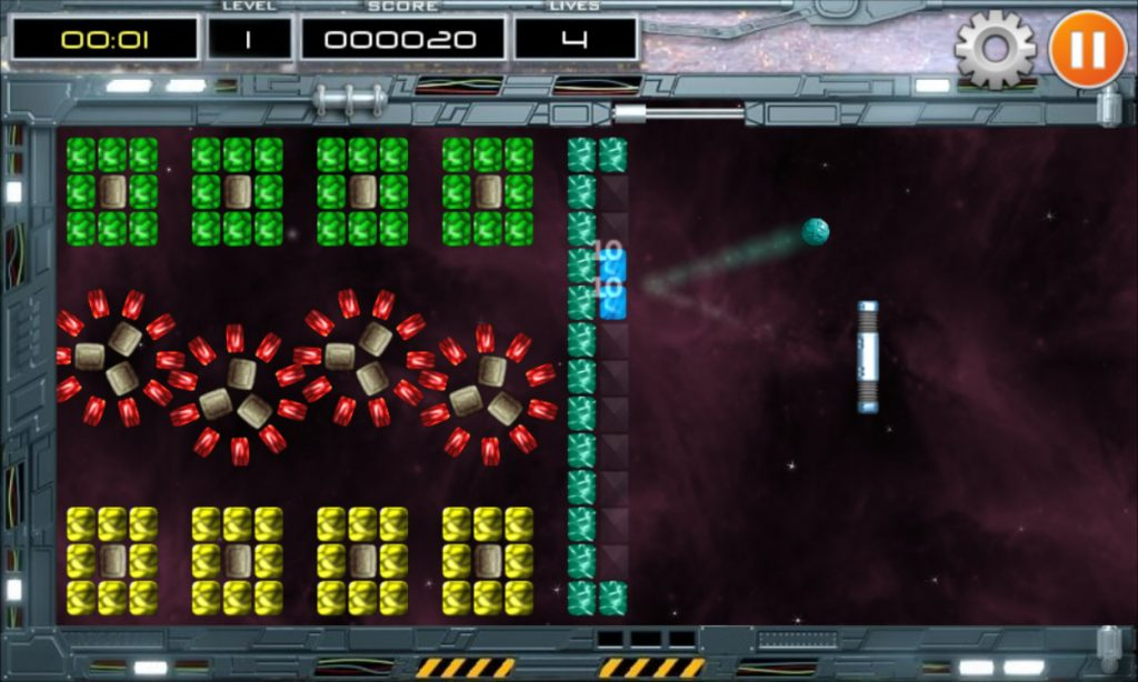 Krakoid - arkanoid game